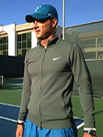Christian Straka, Head Teaching Pro at Toluca Lake Tennis & Fitness Club, L.A. CA